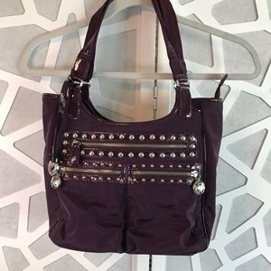 Brighton Campbell bag in Loganberry